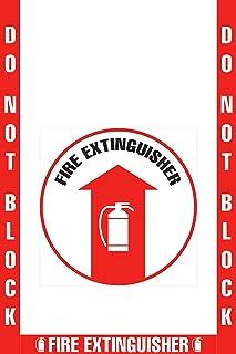 fire extinguisher marking tape