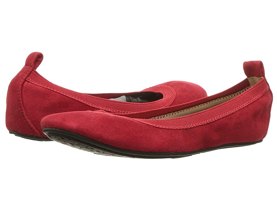 Yosi Samra Kids Limited Edition Miss Samara (Toddler/Little Kid/Big Kid) (Red Agate Microsuede) Girls Shoes