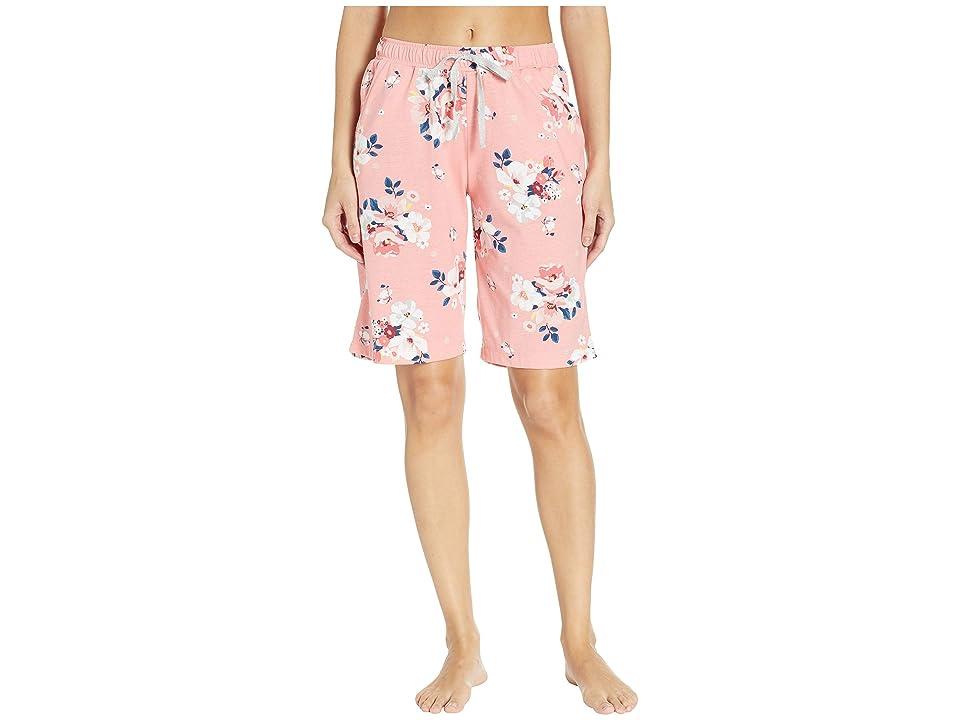 Karen Neuburger Sunday In Sorrento Bermuda Shorts (Floral/Peach) Women
