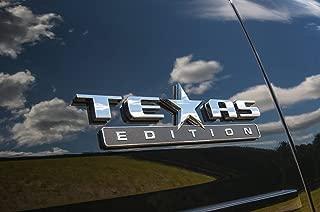 Muzzys Texas Edition 3M Stick On Emblem Badge FITS GMC Sierra Chevy Silverado Suburban Tahoe Ford F150 Dodge Ram Nissan Titan Truck