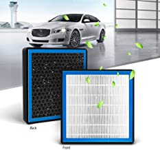 KAFEEK HEPA Honeycomb Cabin Air Filter Fits CF10374, 68164981AA, 87139YZZ09, 88970273, Replacement for Toyota/Dodge/Pontiac, Includes Activated Carbon Particles