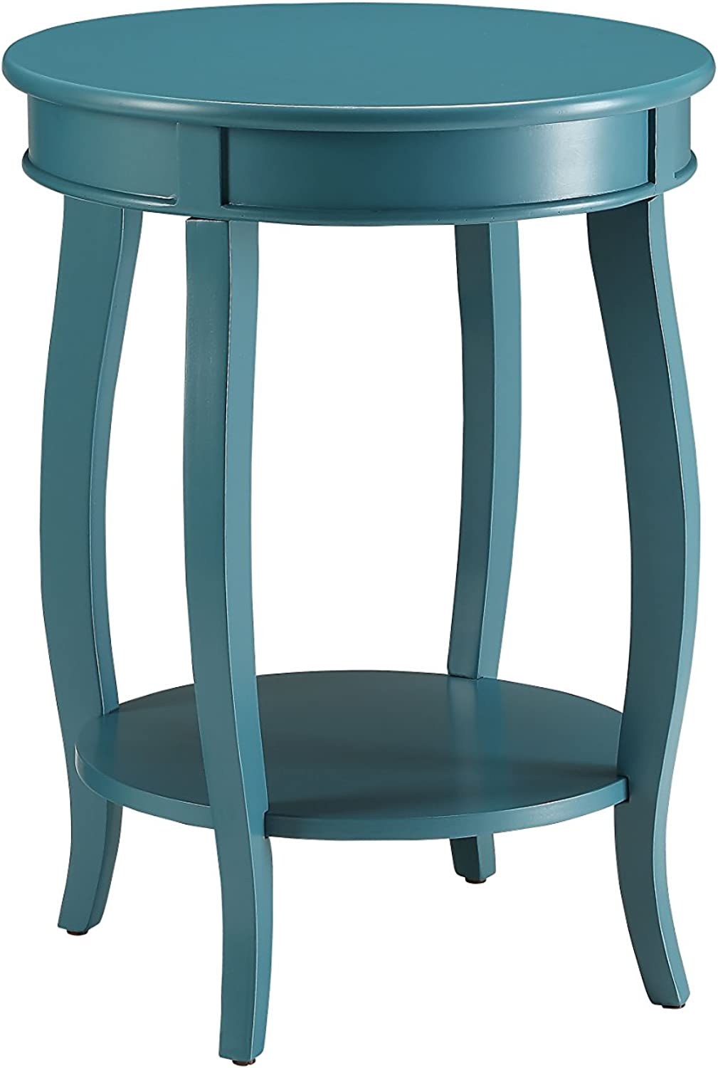 ACME Furniture Acme 82790 Aberta Side Table, Teal, One Size