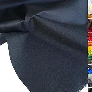 TOLKO wasserfest beschichteter Nylon Stoff | fester Segeltuch Planenstoff als Nylonplane für Aussenbereich | Reißfest und Langlebig | Meterware 150cm breit schwerer Outdoorstoff Marine-Blau
