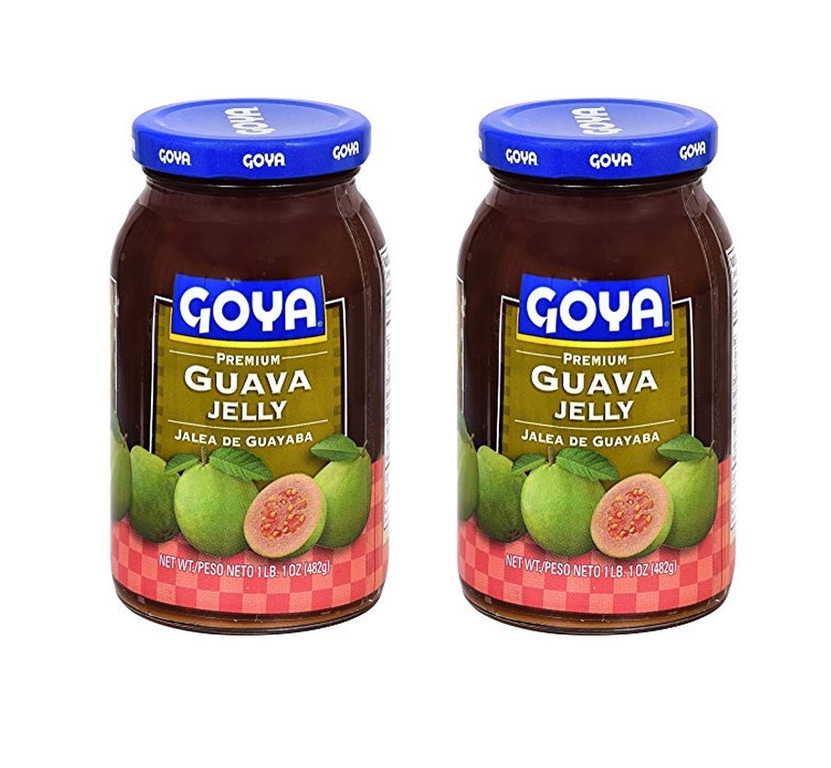 Goya Premium Courier supreme shipping free Guava Jelly 2 Pack Total 964g of
