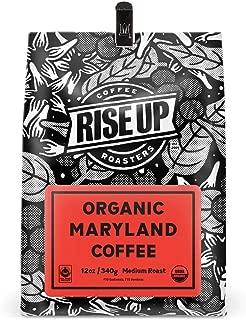 Organic Maryland Blend, Certified Fair Trade Organic Coffee, 12 oz, Whole Bean (Organic Maryland)