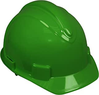 Jackson Safety Charger Hard Hat (20432), Meets ANSI Z89.1 - 2009, Pinlock Suspension, Green, 12 / Case