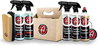 Adam's Interior 6 Pack - Includes 6 Iconic Products To Completely Clean & Restore Your Interior - Clean, Restore, and Prot...
