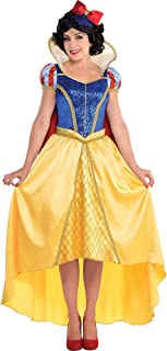 Costumes USA Snow White and The Seven Dwarfs Snow White Costume Couture for Adults, Includes a Dress and Hat