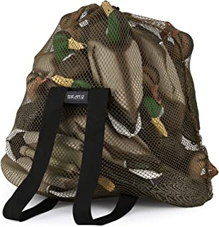 GearOZ Mesh Decoy Bag, Decoy Backpack Light Weight Blind Bag with Adjustable Shoulder Straps for Hunting Waterfowl Duck Turkey Goose