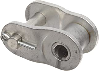 174000lbs Average Tensile Strength 1 Pitch 0.625 Roller Diamter 5//8 Roller Width Regal 1 link 5//8 Roller Width 0.625 Roller Diamter ANSI 80 1 Strand 1 Pitch Morse 80SS O//L Standard Roller Chain Link