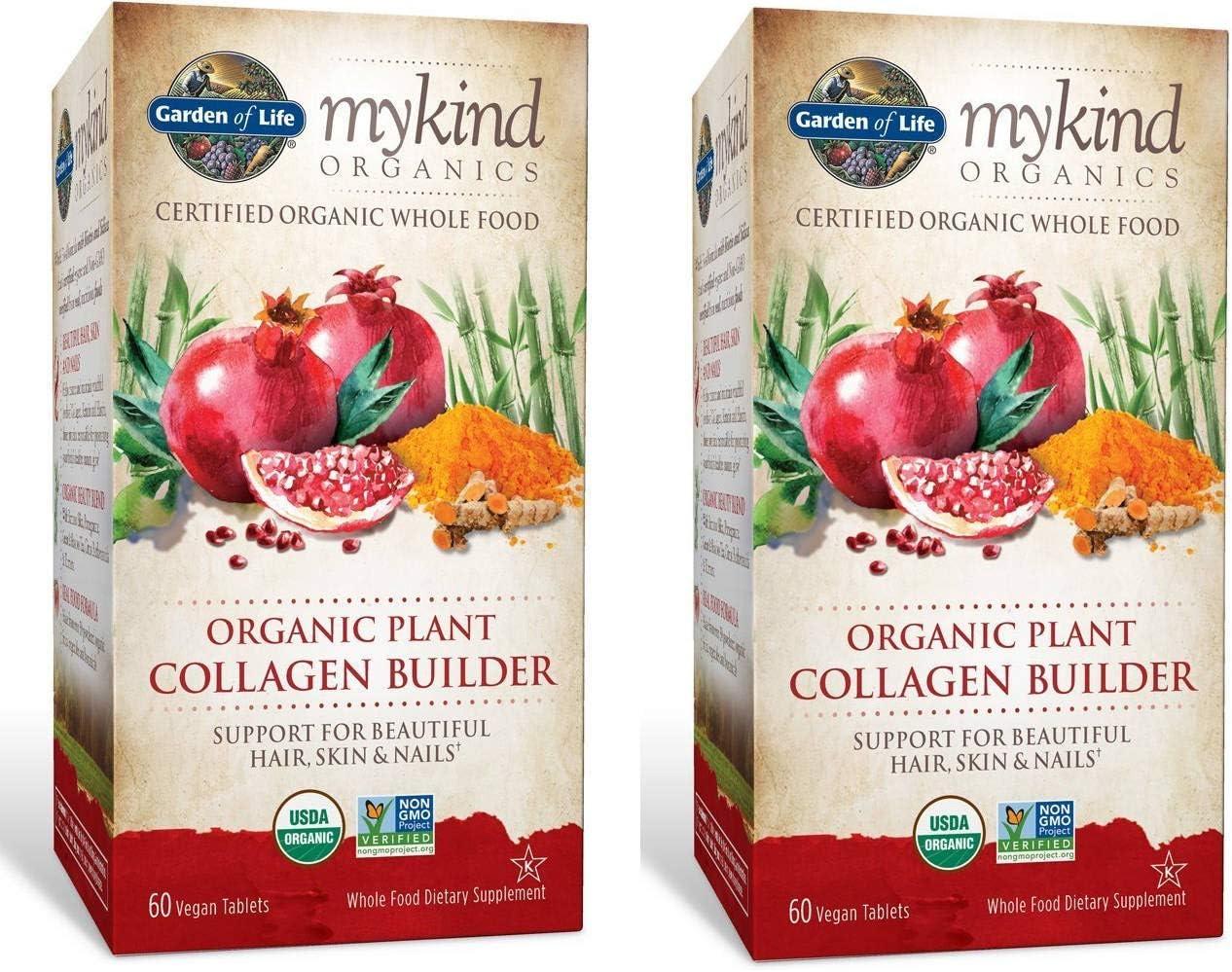 新作からSALEアイテム等お得な商品満載 MyKind Organics Certified 新生活 Organic Whole Plant Collagen Buil Food