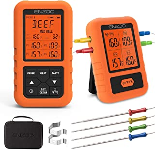 wireless digital thermometer for cooking