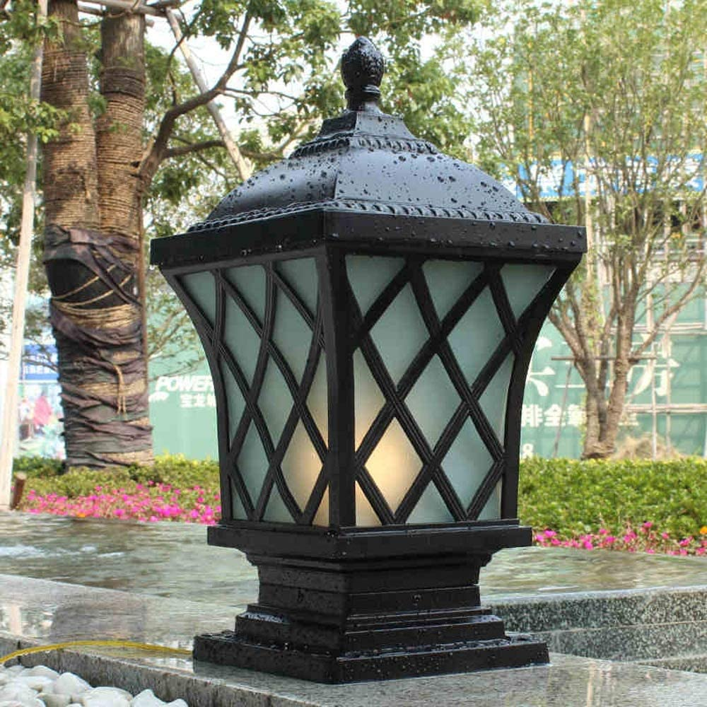 Moddeny IP54 Manufacturer OFFicial shop Square Waterproof Outdoor Pillar Light Column Large-scale sale Lamp