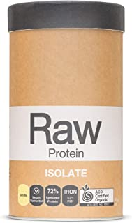 Amazonia RAW Protein Isolate Vanilla, 500g