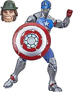 Boneco Marvel Legends Series, Figura de 15 cm - Civil Warrior com Escudo - F0250 - Hasbro