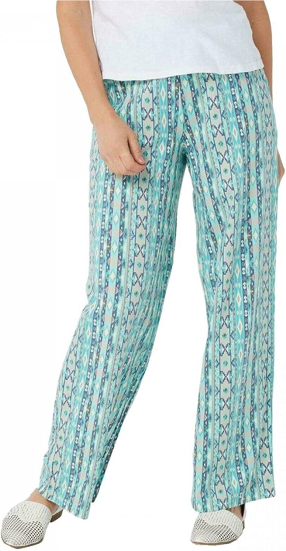 Denim & Co. Plus Tall Pull-On Wide-Leg Beach Pants. A376431-Plus