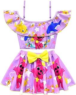 Crazy Gotend Girls 2PCS Bikini Set Ruffle Bathing Suit Swimwear