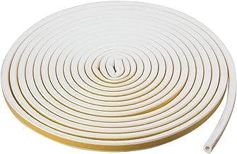 TRIXES Tocht Excluder Deur Isolatiestrip - Raam Rubberen Afdichting 5M Witte Zelfklevende Raam Afdichtstrip voor Deur en R...