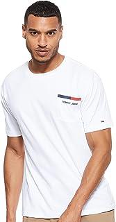 Tommy Jeans Mens Back Stripe T-Shirts