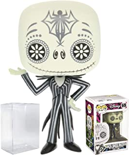 Funko Pop! Disney: The Nightmare Before Christmas - Day of The Dead Jack Skellington Vinyl Figure (Bundled with Pop Box Protector Case)