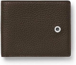 Graf von Faber Castell Cashmere - Tarjetero con Pinza para Dinero, Color marrón Oscuro