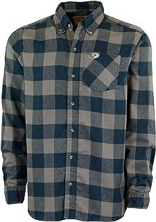 Flannel Shirt for Men, Buffalo Plaid Long Sleeve Mens Flannel Shirts