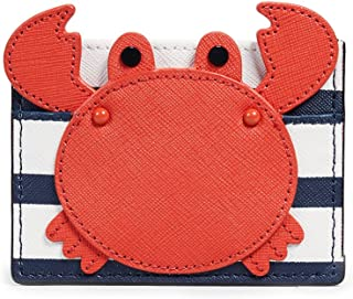 Kate Spade New York Women's Shore Thing Crab Card Holder