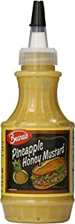 Beano's Mustard, Pineapple Honey, 8 Ounce (Pack of 12)