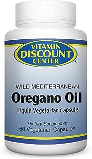 Vitamin Discount Center Wild Mediterranean Oregano Oil Supplement, 60 Vegetarian Capsules