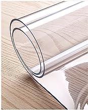Transparant tafelkleed PVC-tafelfilm, doorzichtige tafelhoes Kunststof tafelbeschermer Waterdicht plastic tafelkleed Afvee...