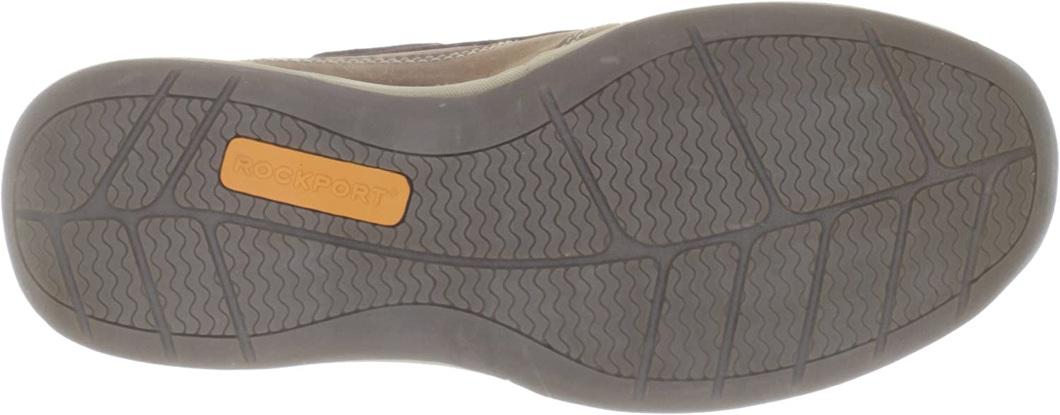 Rockport Works Mens Sailing Club 3 Eye Tie Boat Shoe