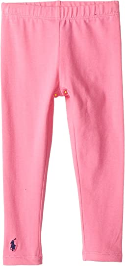 Polo Ralph Lauren Kids Solid Jersey Leggings (Toddler)