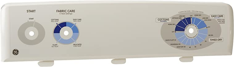 General Electric WE19M1491 Dryer Control Panel