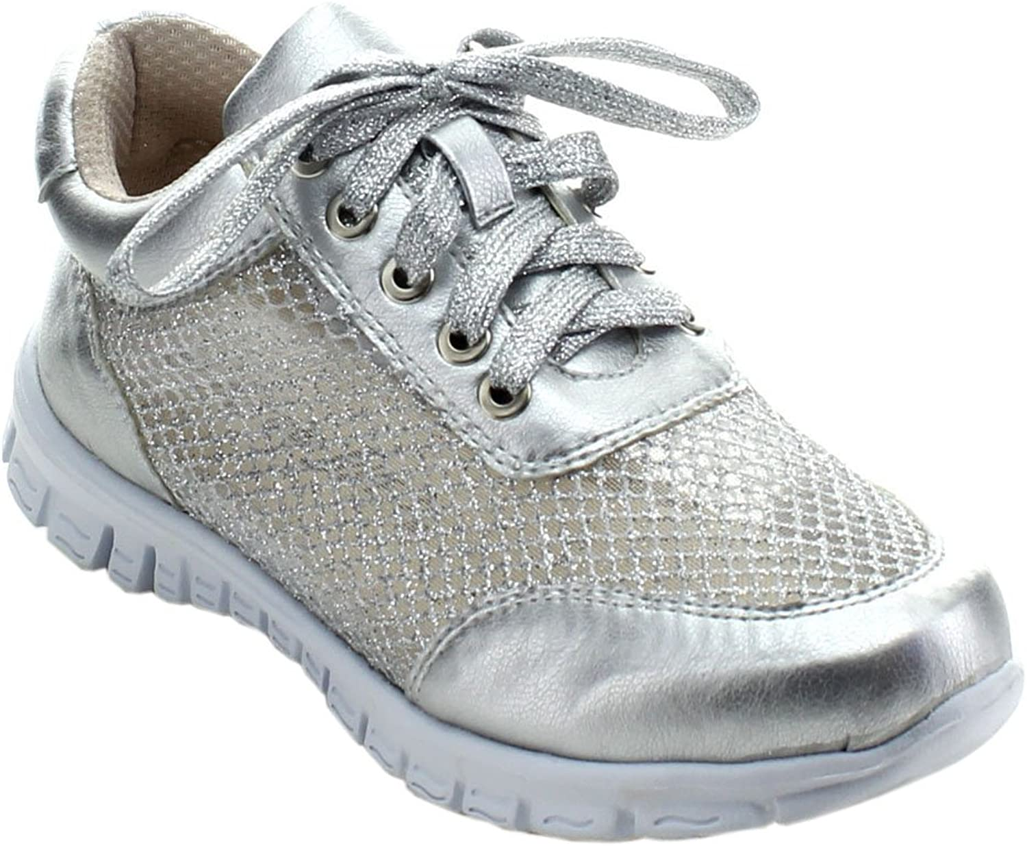 Nature Breeze JET-03 Women's Lightweight Mesh Lace Up Slip On Walking shoes