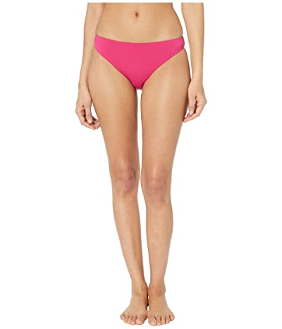 THE BIKINI LAB Solids Cinched Back Hipster (Blossom) Women