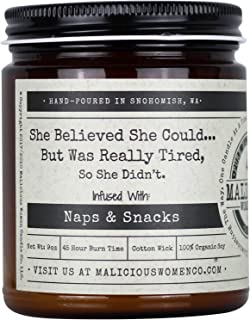 Best Malicious Women Candle Co - She Believed She Could. But was Really Tired. So She Didn