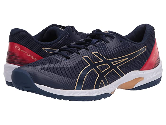 ASICS  Court Speed FF (Peacoat/Peacoat) Mens Tennis Shoes