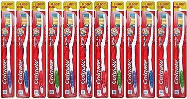 Colgate Premier Clean cepillo para polvo de dientes extra (Pack de 12)