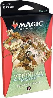 Magic: The Gathering Zendikar Rising Theme Booster - Red