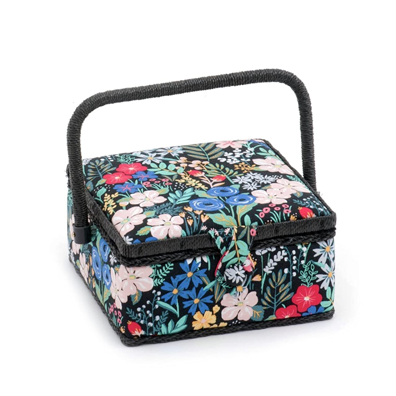 Hobby Gift 'Summertime' Small Square Sewing Box 20 x 20 x 11cm (d/w/h)