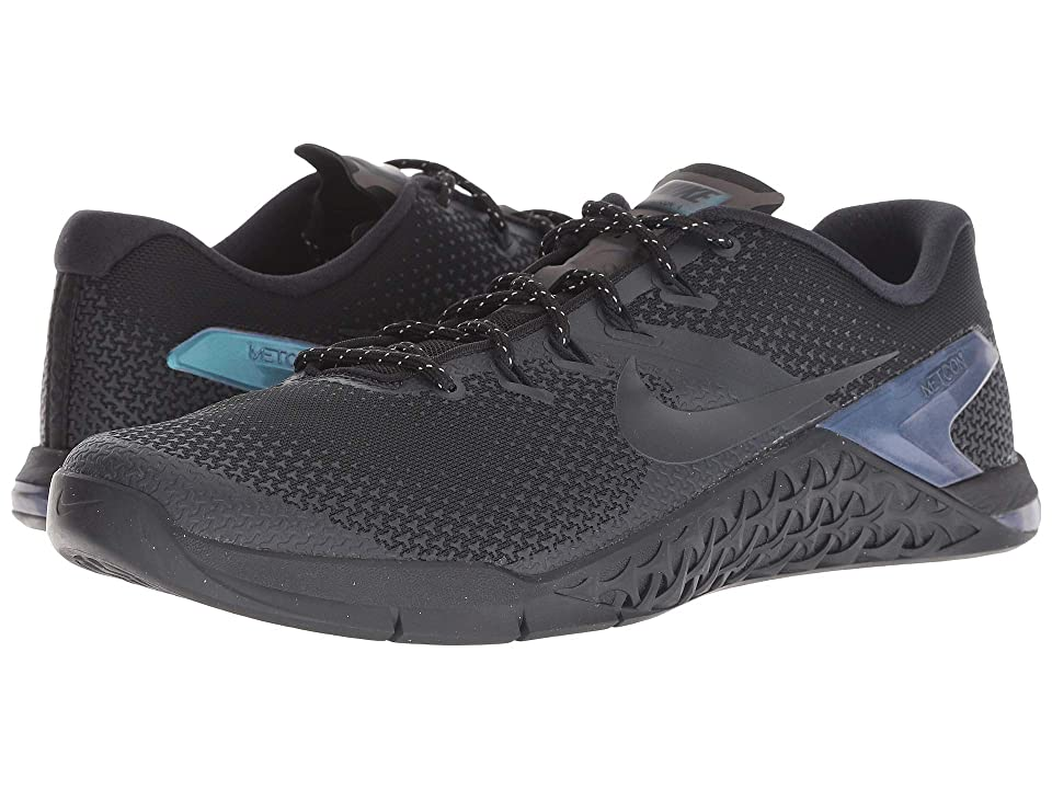 Nike Metcon 4 AMP (Black/Black/Dark Obsidian) Men's Cross Training Shoes