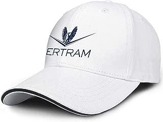 NINETYRW Patterned Mens Baseball Caps Bertram-Capital-Logo- Dad Hats for Women Popular Cotton Adjustable Unisex Trucker Cap