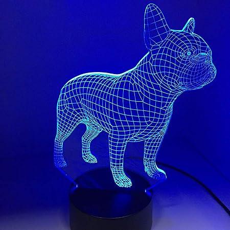 energia classe a + + + 3D dito basket lampada da tavolo acrilico piccola notte luce 7 cambiare colore Touch Switch desk luci tensione: 5V