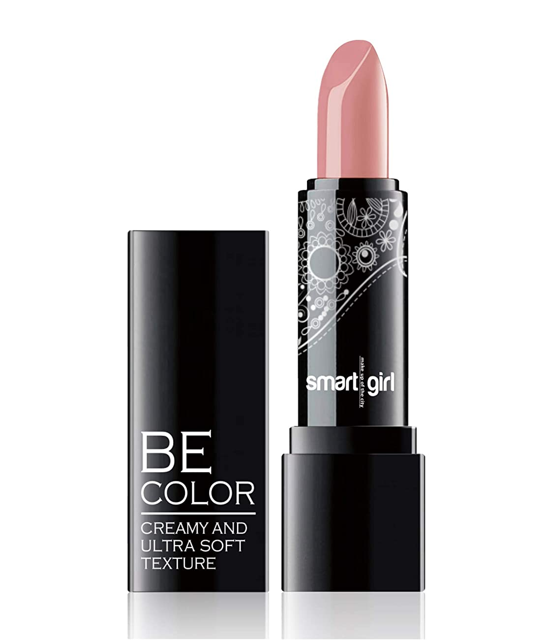 プラグにもかかわらず接続詞BelorDesign | BE COLOR LIPSTICK | SMART GIRL | CREAMY AND ULTRA SOFT TEXTURE | 30 Rich Colors Lipstick | Vitamin E (120)