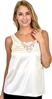 Patricia Satin Camisole for Under Blouse (S-4X)