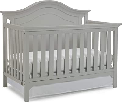 Ti Amo Conklin 4-in-1 Convertible Crib, Cloud Grey