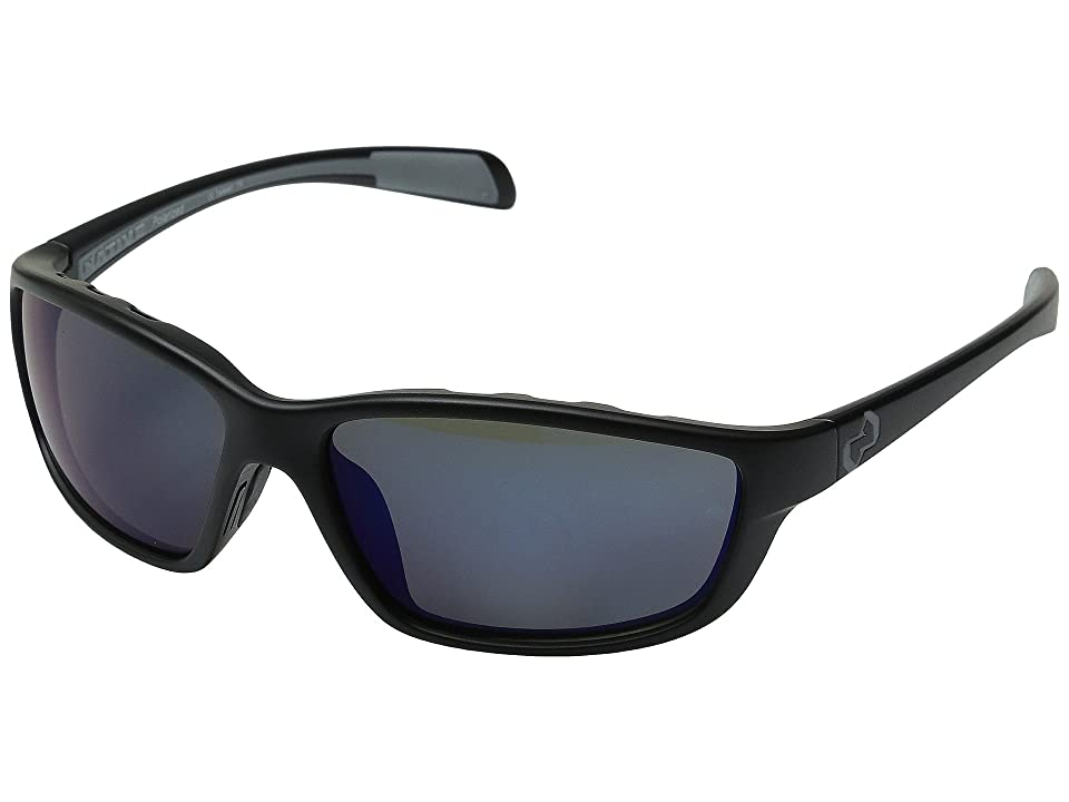 Native Eyewear Kodiak (Asphalt/Blue Reflex) Athletic Performance Sport Sunglasses