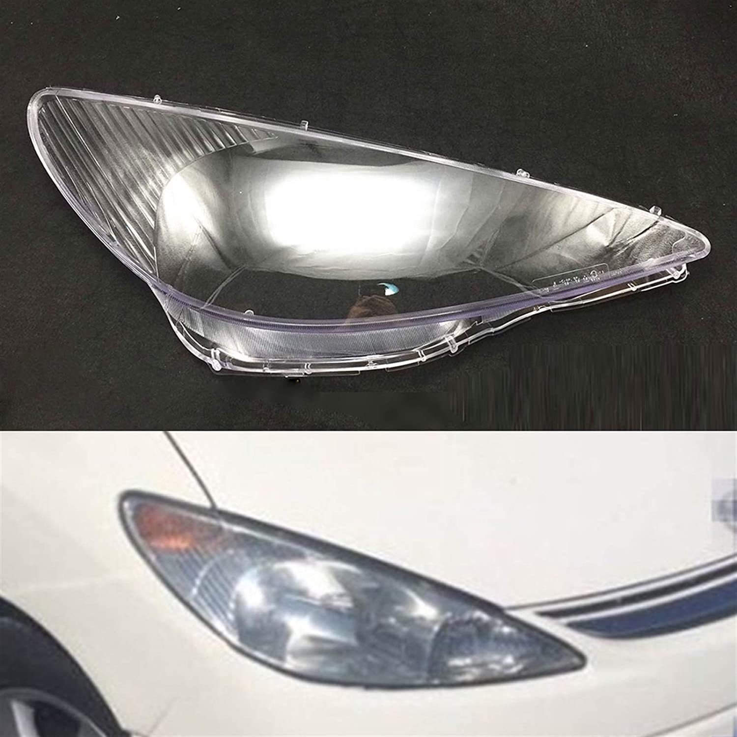 XCJ Headlight Finally resale start Clear Cover Car Fit Year-end annual account Shell for Lens