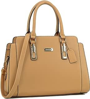 Women Satchel Handbags Purse Shoulder Bag Work Bag With Removable Shoulder Strap