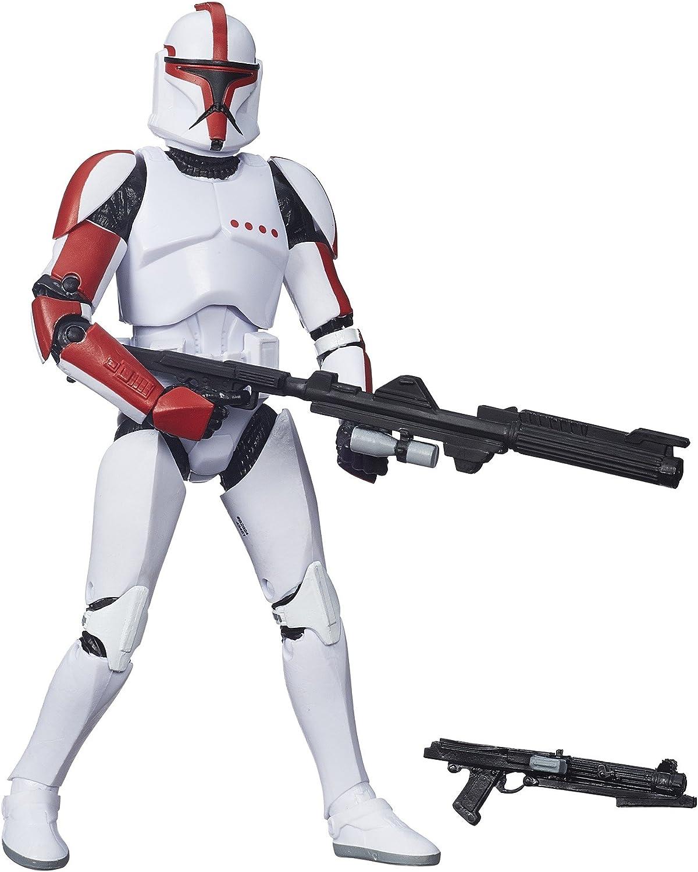 Star Wars - schwarz Series Clone Trooper Captain 15cm Figur